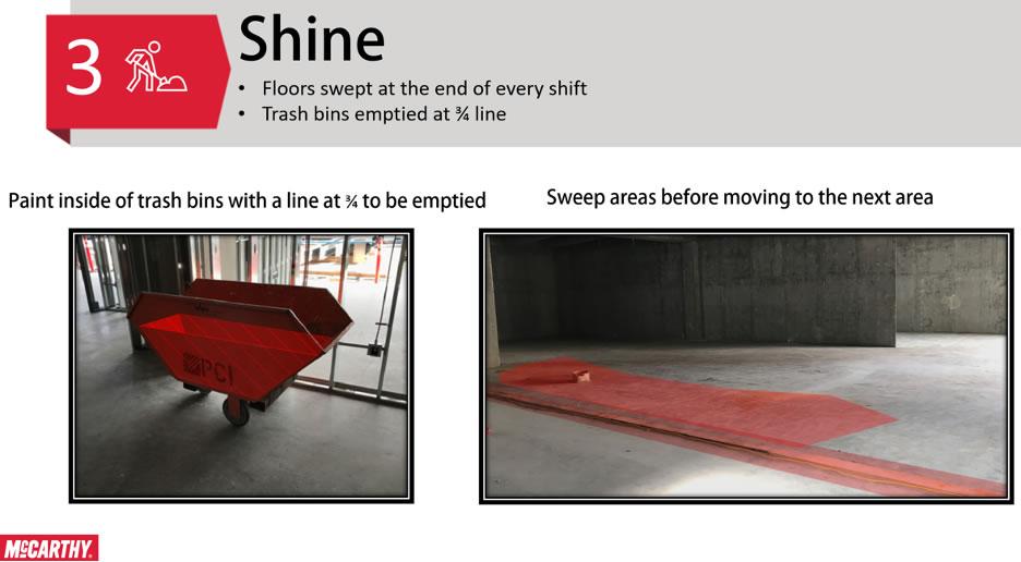 Step 3 - Seiso - Shine
