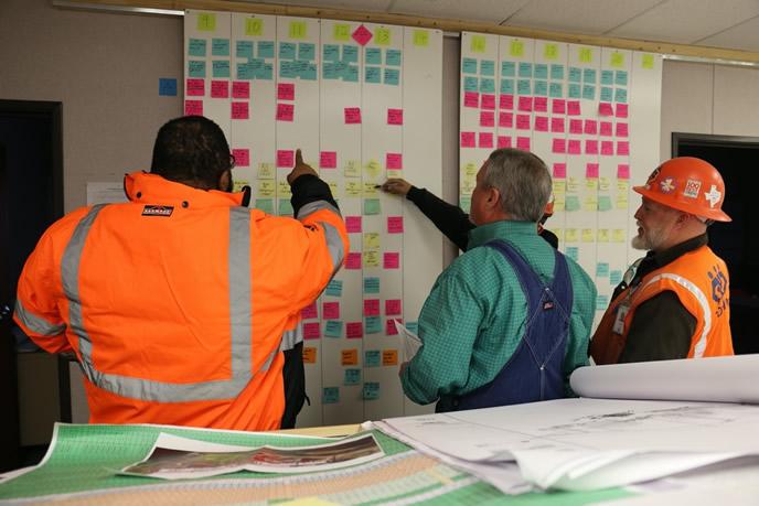 Lean Construction Planning Board