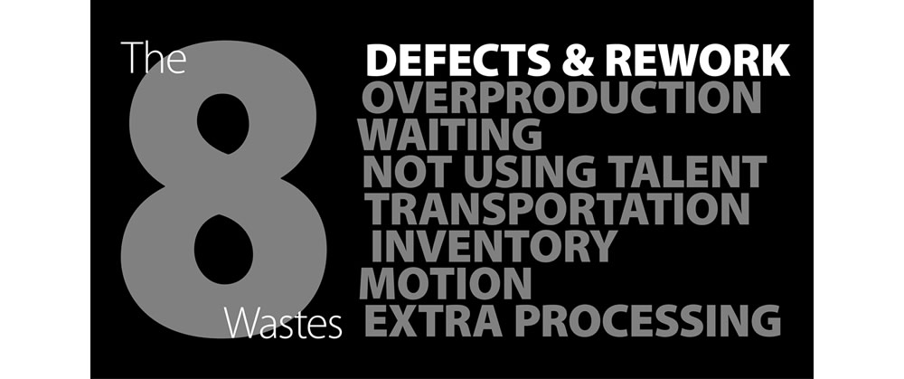 8 Types of Waste in Lean - Defects and Rework
