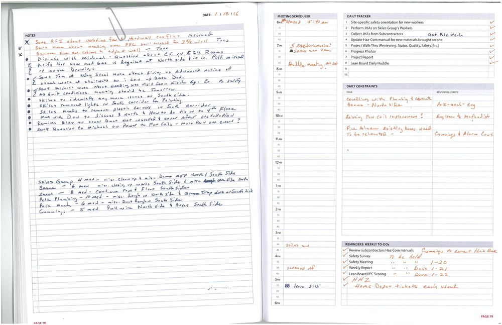 In Lean Time Management Note-Taking Is Essential