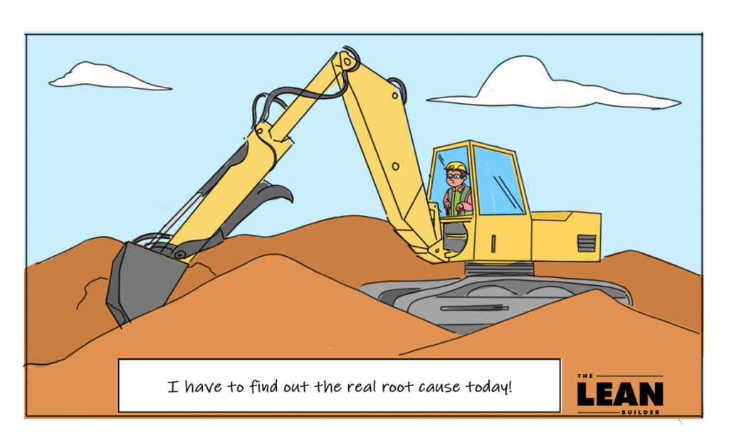 Root Cause Analysis in Lean Construction